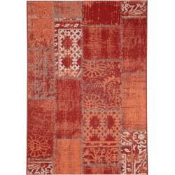 Photo of benuta indoor & outdoor rug Capri Red 80×150 cm – for balcony, terrace & garden benuta