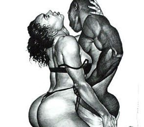 erotic art Black