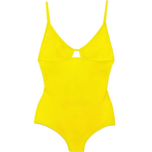 Tomas Maier Sun Maillot Swimsuit