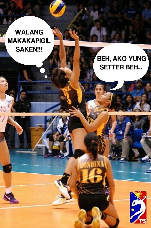 Pin By Alain Keith Cabardo Daguio On Volleyball Memes Volleyball
