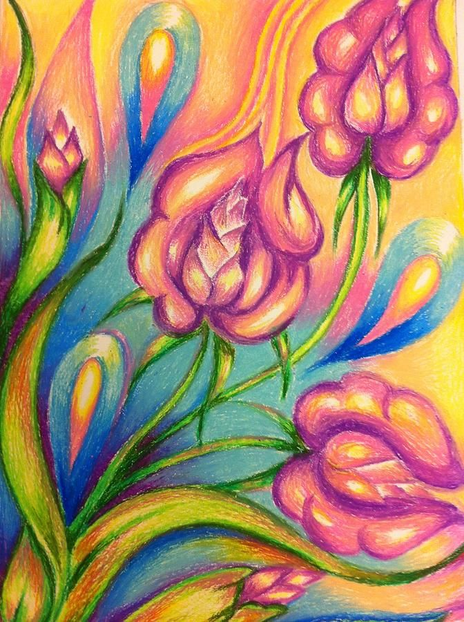Image detail for -Abstract Drawings Flowers Drawing ... Abstract Drawing