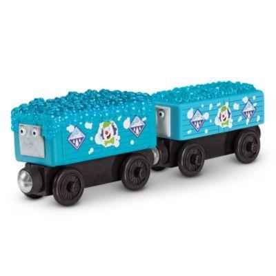 LOGAN Thomas /& Friends WOODEN Railway NEW Train WOOD