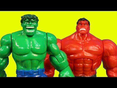 Imaginext Joker Creates Robotic Red Hulk To Battle Batman Robin Spider Man Wolverine Thor Red Hulk Hulk Hulk Cakes