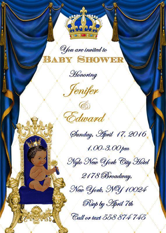 royal baby shower invitation little prince baby shower invitation royal 1st birthday invitation 1st birthday baby shower little prince