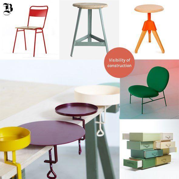 Design inspirado na indústria e construção