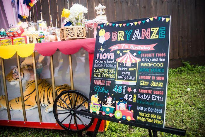 Backyard Carnival backyard carnival birthday party   circus and carnival party ideas