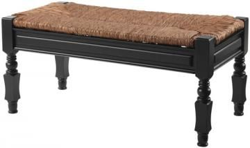 Devonshire Bench With Rush Seat Benches Entryway Furniture Homedecorators Com Rush Seat Bench Entryway Furniture Outdoor Rocking Chairs