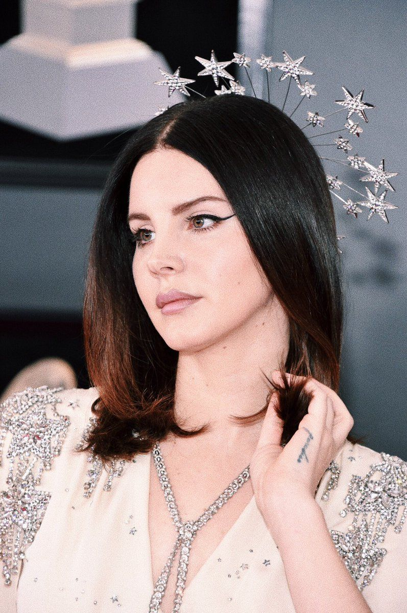 8495fc78a1 Lana Del Rey attends the 60th annual Grammy Awards at Madison Square Garden  in New York City (Jan.28