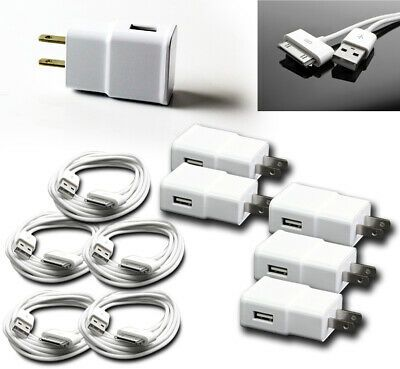 5X 3FT USB TO 30PIN WHITE CABLE DATA SYNC POWER CHARGING FOR SAMSUNG GALAXY TAB
