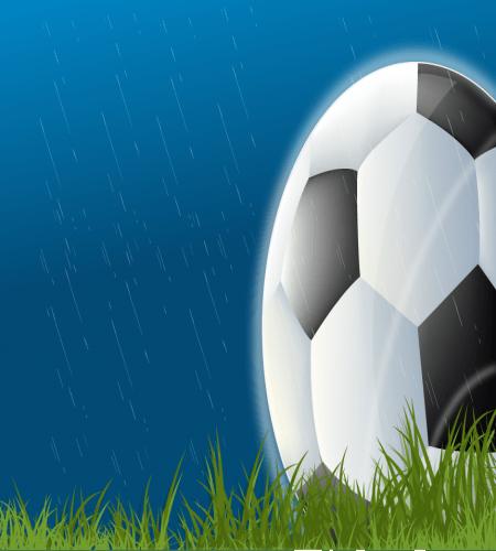 تصميم كرة قدم في المطر جميل ورهيب Graphic Design Logo Logo Design Design