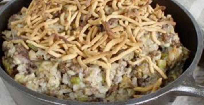 mn hamburger rice hotdish | recipe in 2020 | hotdish