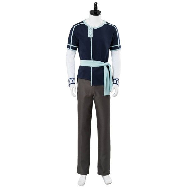 Sword Art Online Cosplay Kazuto Kirigaya Kirito Costume Uniform Outfit Whole Set