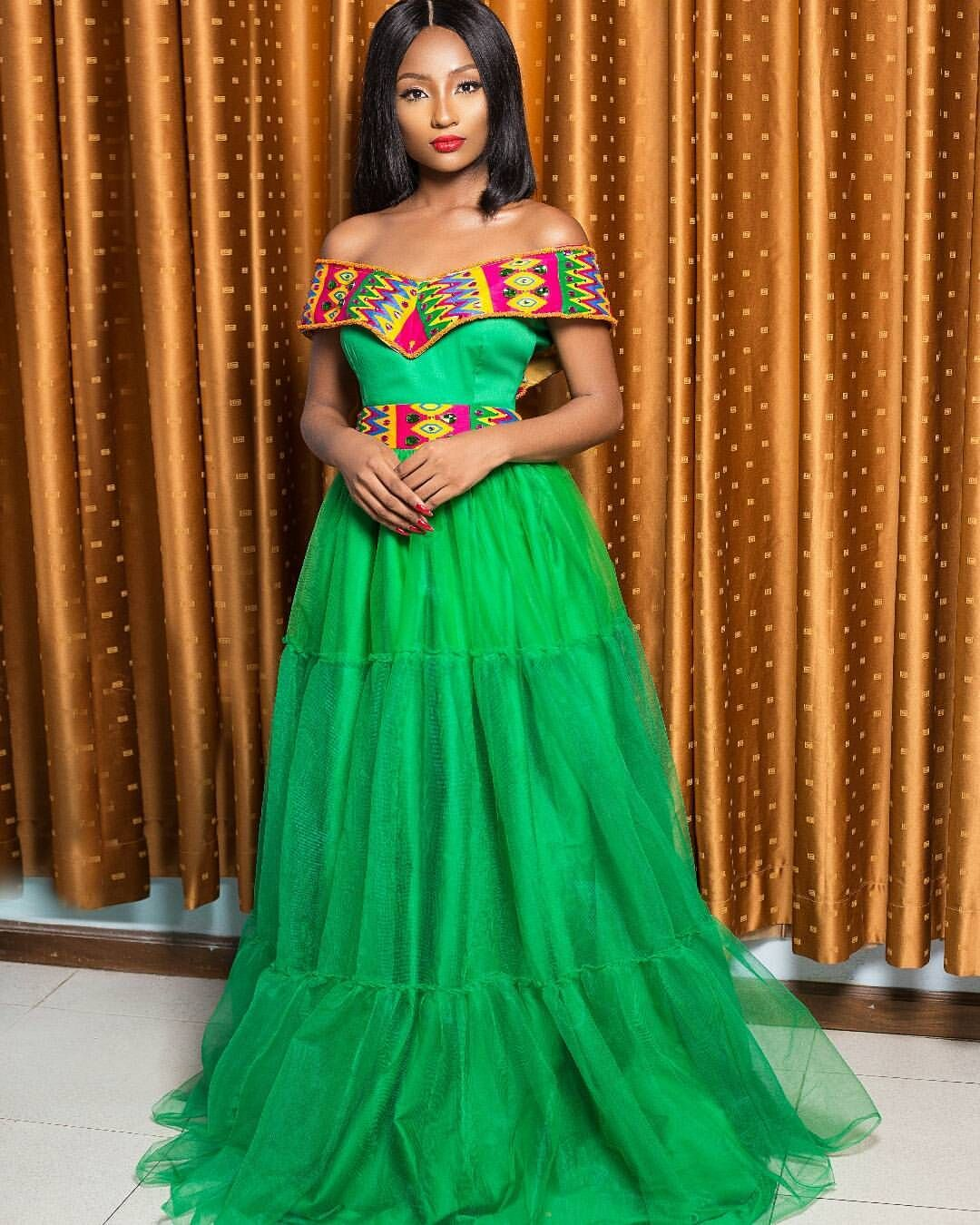 In a class of itus own the beaded kente dress earns extra credit