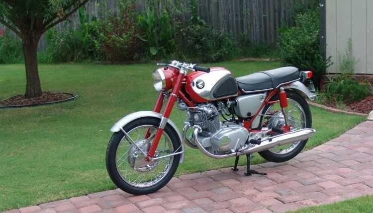 1965 Honda Superhawk Cb77 Flawless Motorcycles 1965 Honda Classic