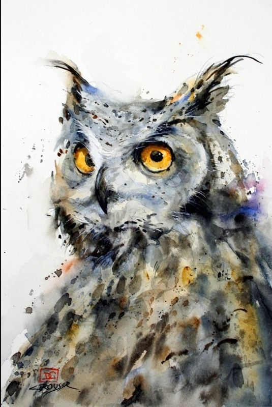 Fine Art and You: Beautiful Watercolor Paintings by Dean Crouser