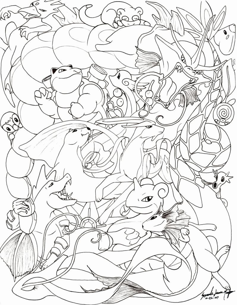 28 Eevee Evolutions Coloring Page in 2020 Pokemon