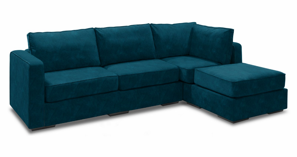 Chaise Sectional Couch 4 Seats 5 Sides Couch With Ottoman