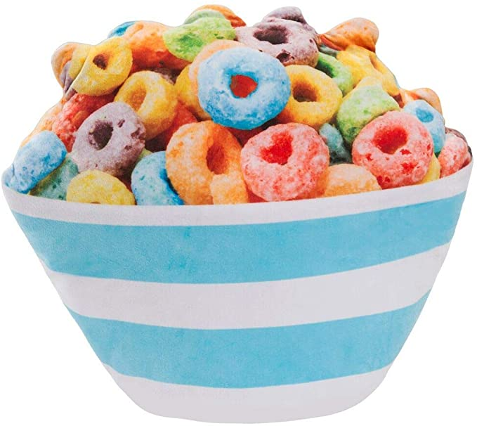 Amazon Com 3c4g Cereal Bowl Scented Bed Pillow Home Kitchen Scented Pillows Fruit Cereal Cereal Bowls