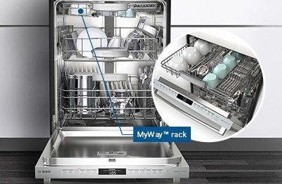 A Third Rack For Your Dishwasher 30 More Loading And More Flexibility Bosch Is The Choice Come Test Drive Our Appliance Center Thermador High End Kitchens