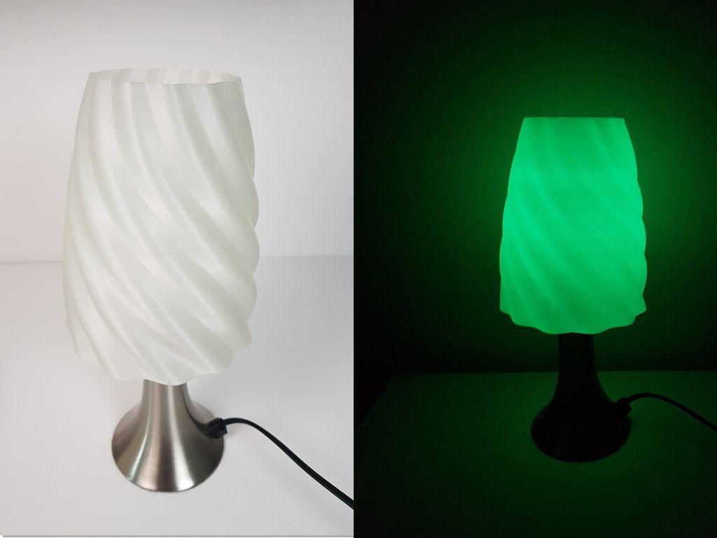 Lamp Shade Abat Jour By Helioxlab Lamp Lamp Shade 3d Printing
