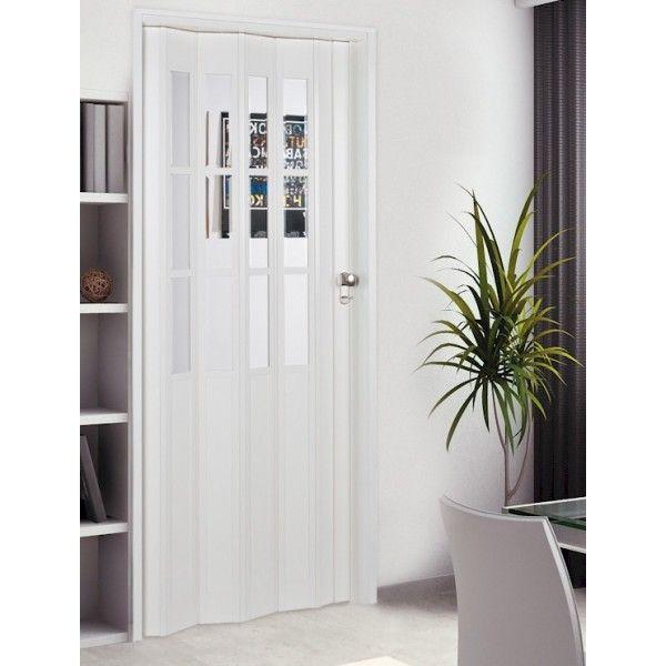 The President Folding Door - White Glass | curtains | Pinterest ...