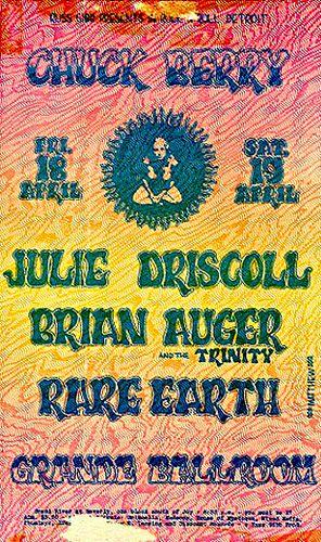 Chuck Berry, Trinity, Rare Earth