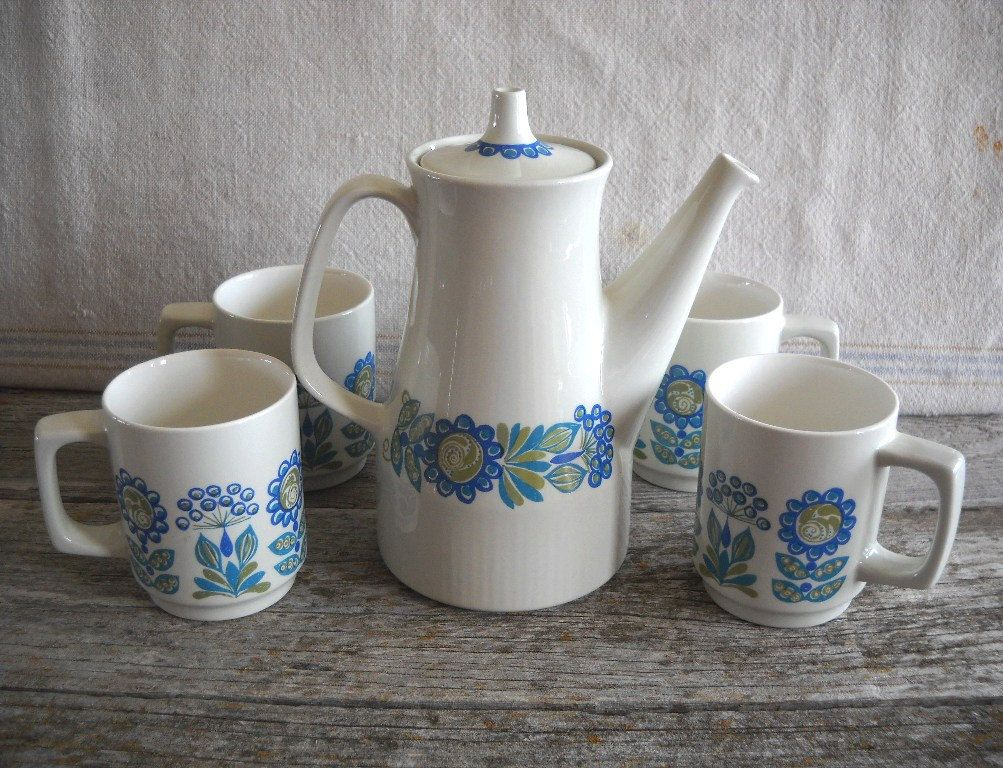 Tor Viking Coffee Set, Figgjo Turi.