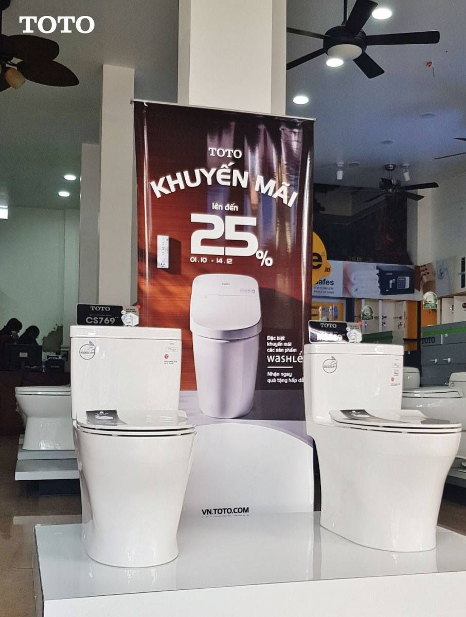 Những mẫu thiết bị vệ sinh TOTO giá tốt tại Tphcm Vệ