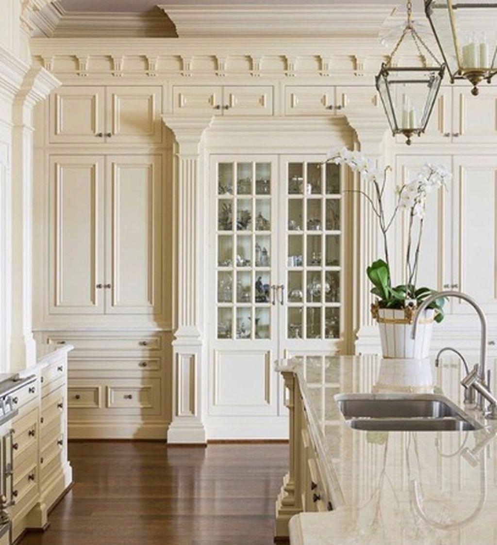 Awesome stunning luxury white kitchen design ideas also home rh pinterest