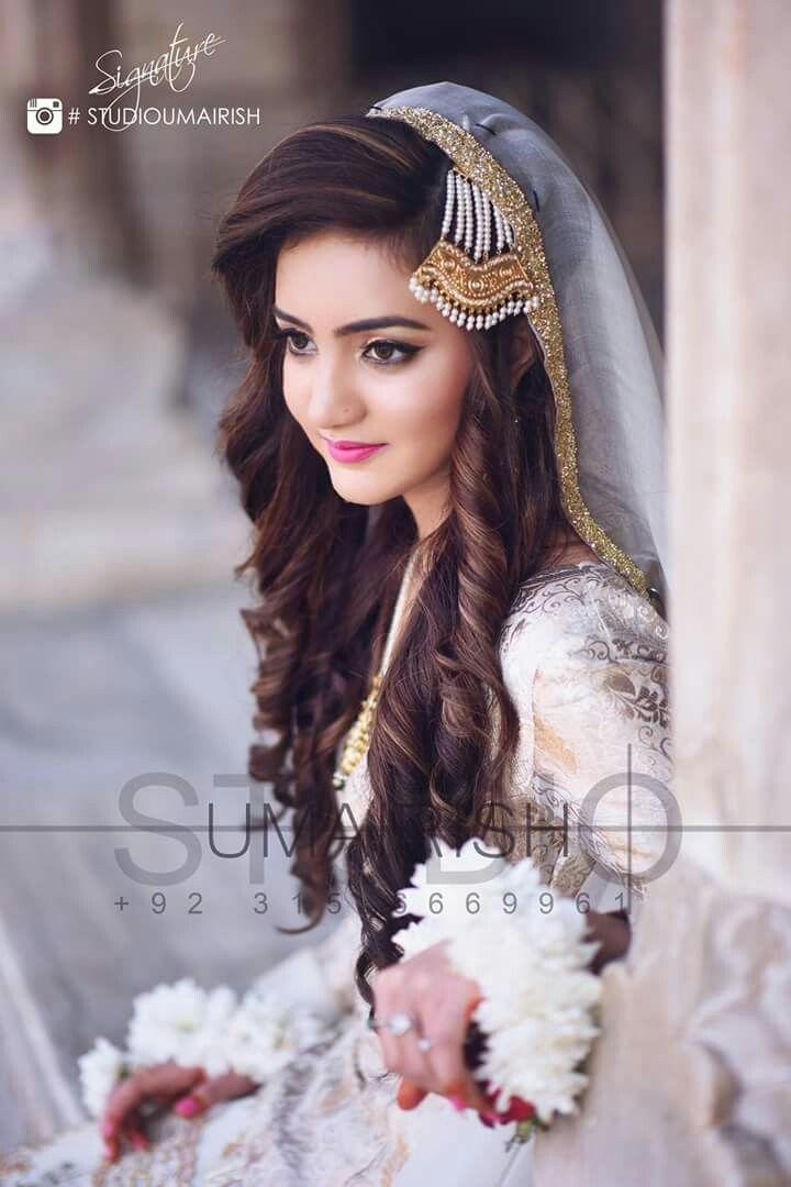 Gur Engagement Hairstyles Pakistani Bridal Makeup