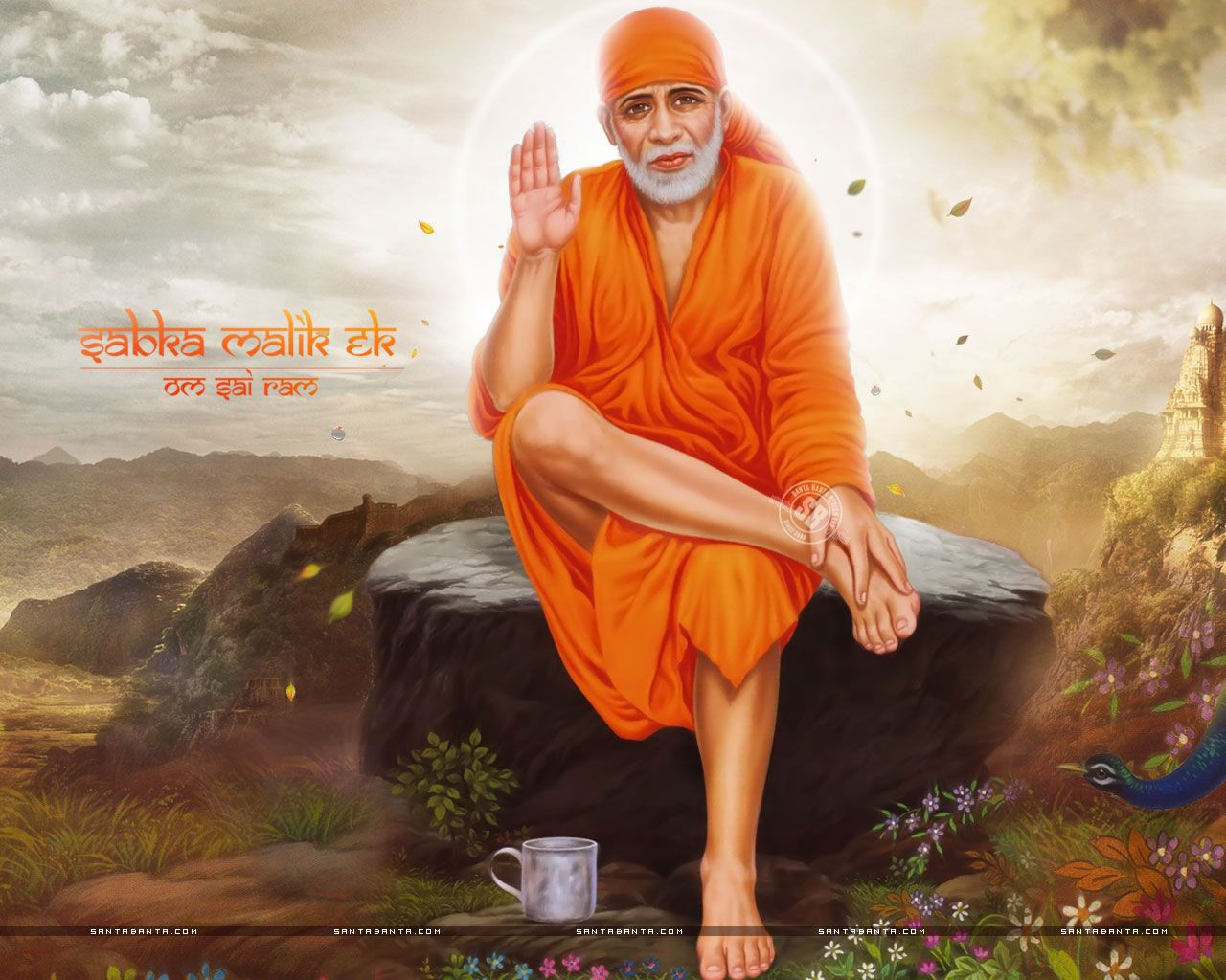 Sai Baba Hd Wallpaper Full Size Download Sai Baba Wallpapers Sai