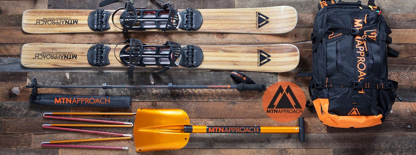 Approach skis for backcountry snowbaorders wwwmtnapproach