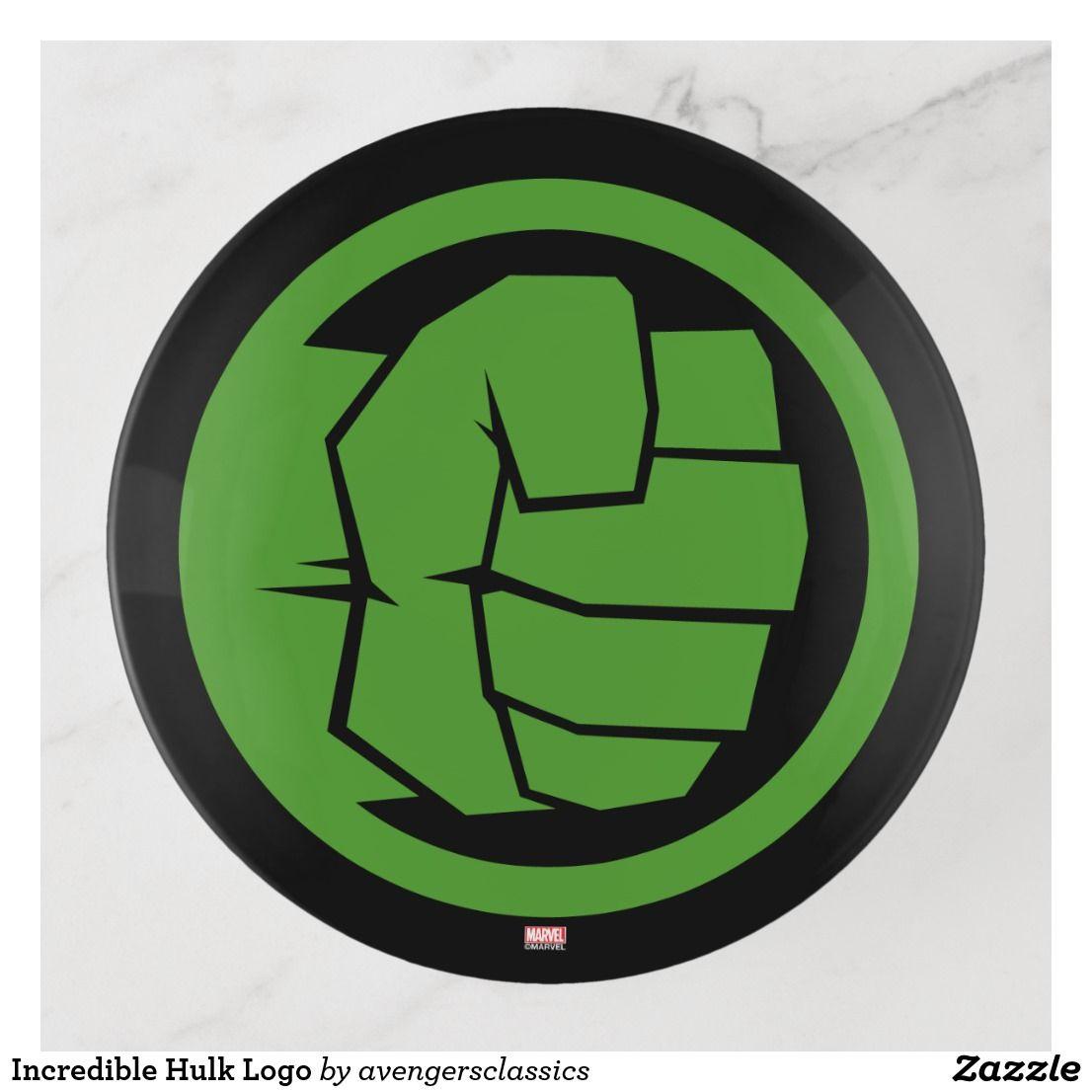 Incredible Hulk Logo Trinket Trays