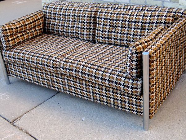 A Selig loveseat from Chicago Craigslist that positively ...