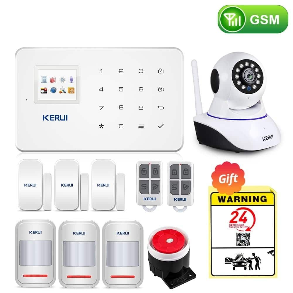 Wireless Home WIFI GSM Security Alarm System Kit with Auto