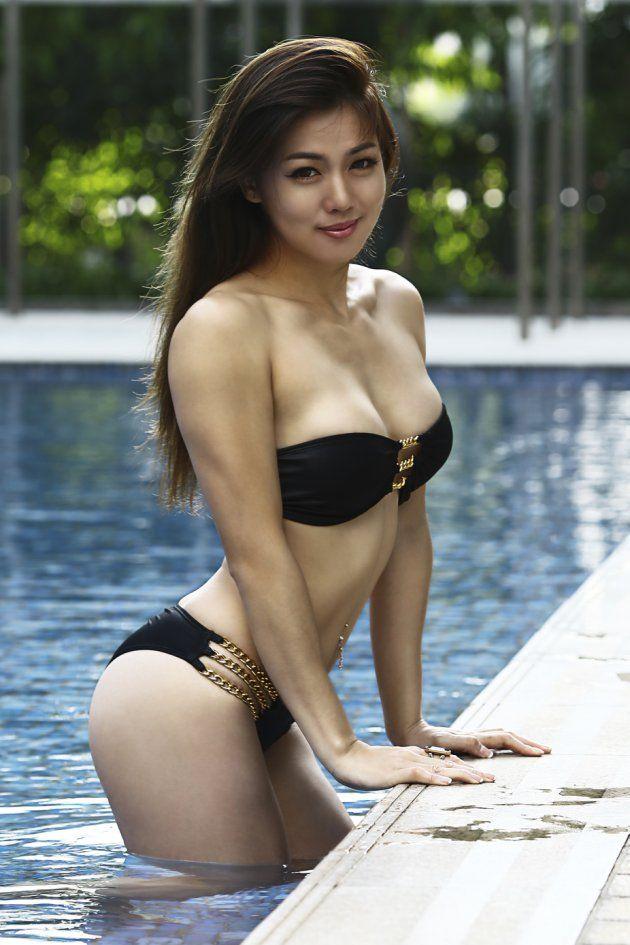 Tan asian girls