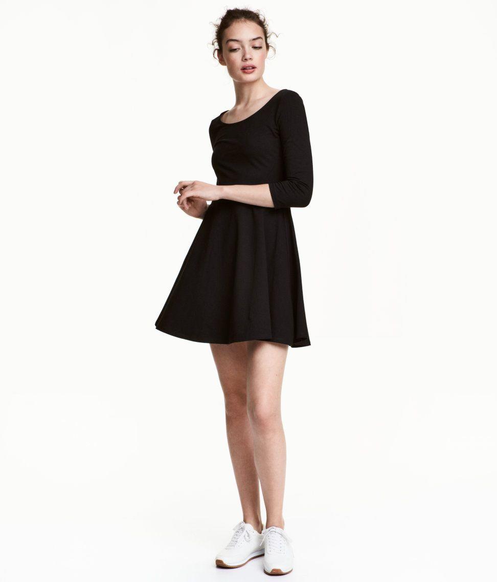 Jersey Dress | Black | Women | H&M US