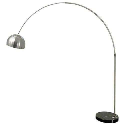 Arc Floor Lamp Circular Marble Base Black Replica Arc Floor Lamps Black Floor Lamp