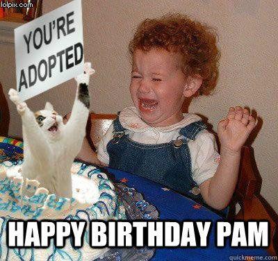 43ed7bc6fbd18934986f5b3ff05cc07b happy birthday pam happy birthday quickmeme parodies of my