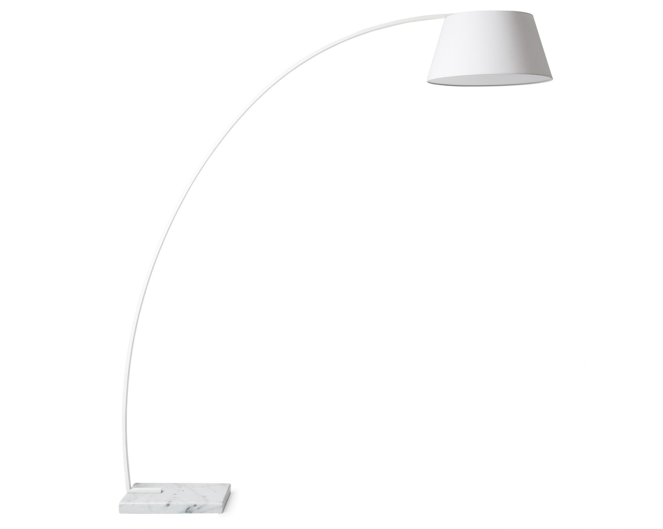 Arc floor lamp white floor lamp ceilings and mid century modern arc floor lamp white mozeypictures Image collections