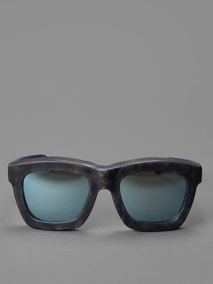 Kuboraum sunglasses with grey lenses #kuboraum