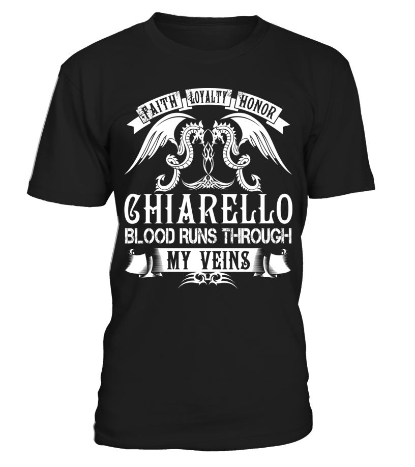 CHIARELLO Blood Runs Through My Veins #Chiarello