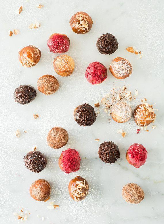 donut holes, made with KitchenAid®️️