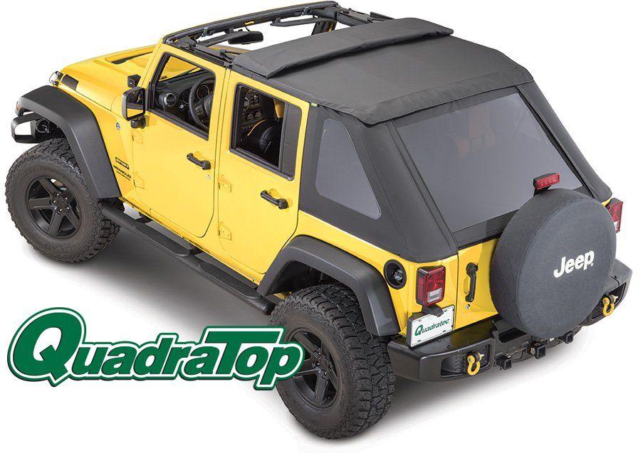 Quadratop Adventure Top S Complete Frameless Soft Top Quadratec