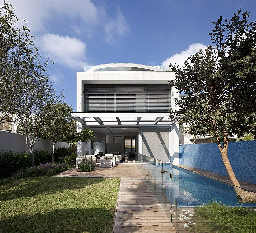 Private house in tel aviv israel by domb architects