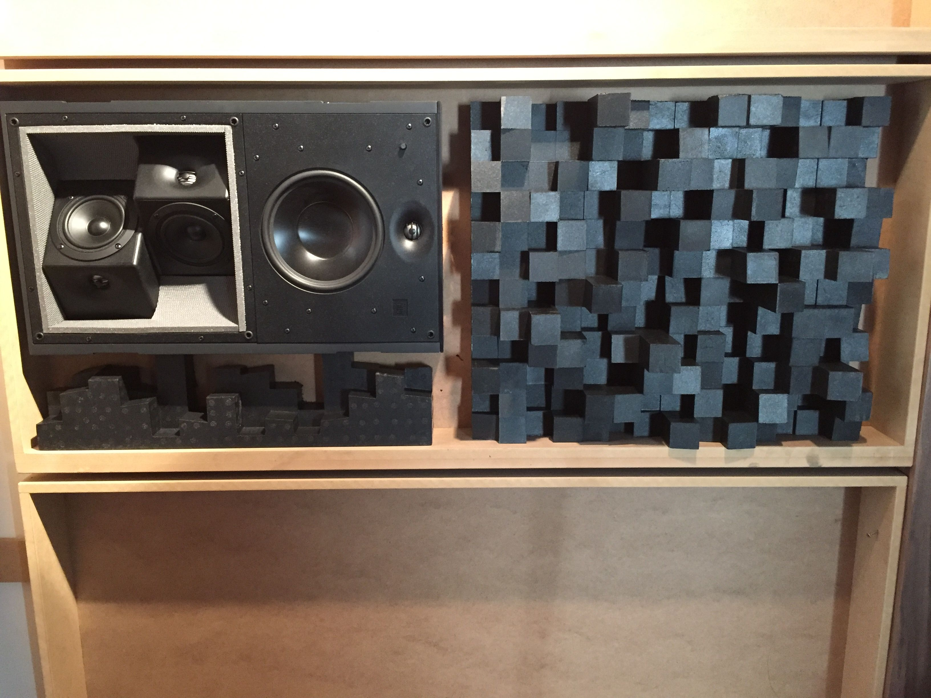 Jbl Synthesis S4ai Hp Surround Dipolaire Bipolaire Montage Au  # Support Mural Pour Enceinte Centrale Pioneer