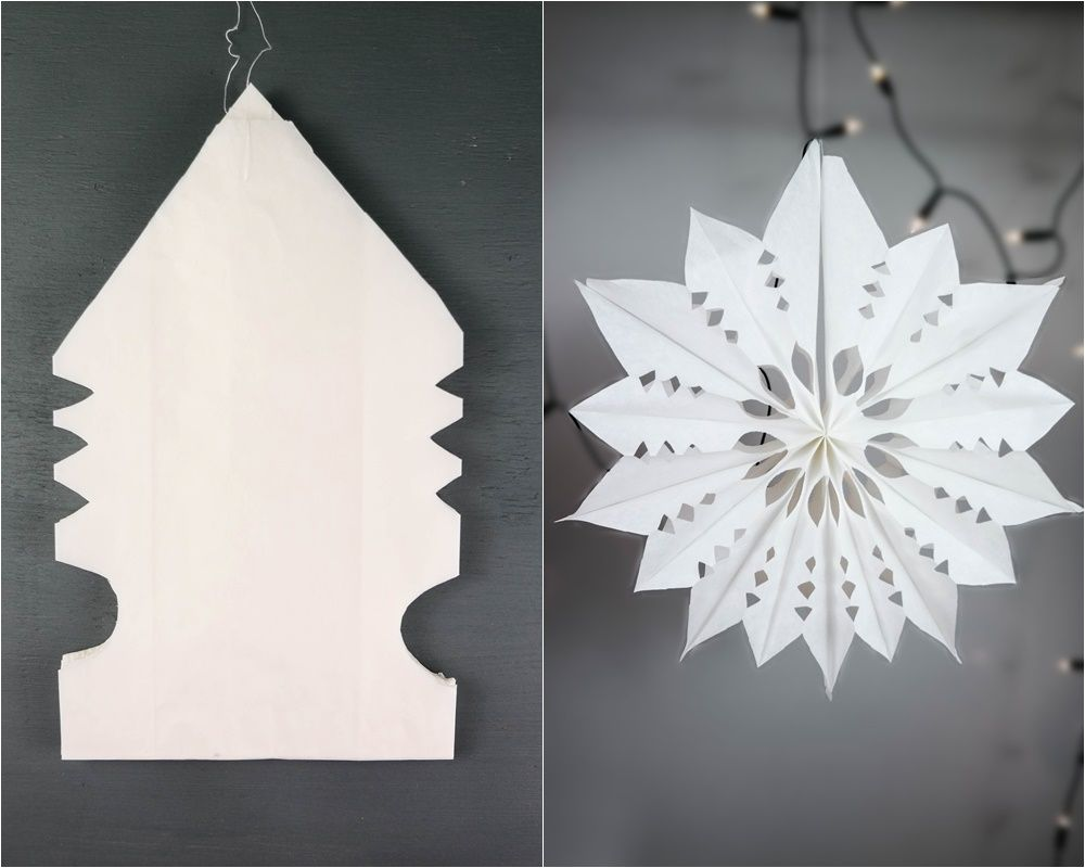 4 Türchen Diy Dezember Zauberhafte Sterne Aus Brottüten Basteln
