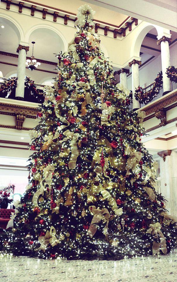Pin By Tipton Hurst On Holidays Christmas Tree Christmas In America Christmas Lights