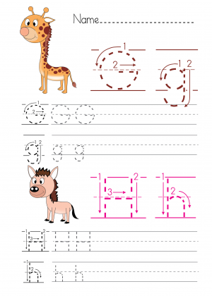 alphabet practice g h homeschooling ideas writing worksheets worksheets handwriting alphabet. Black Bedroom Furniture Sets. Home Design Ideas
