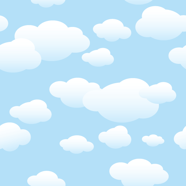 Amigurumi To Go Clouds Blue Aesthetic Cloud Illustration